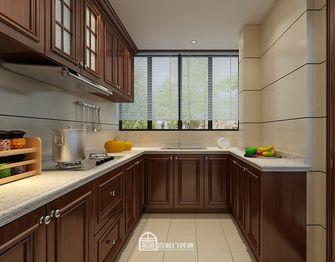 140平米四室两厅美式风格厨房装修图片大全