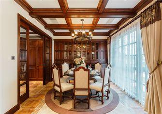 100平米三室两厅美式风格餐厅装修案例
