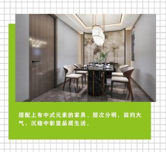 90平米中式风格餐厅图