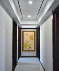 130平米四中式风格走廊欣赏图