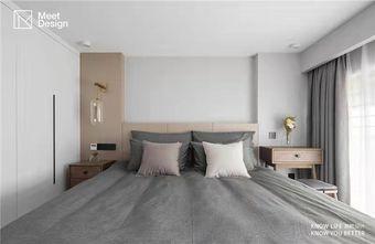 80平米复式北欧风格卧室效果图