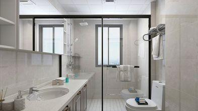 130平米三室两厅美式风格卫生间图片