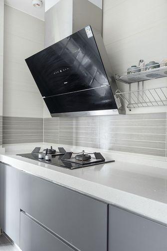 140平米三室一厅混搭风格厨房欣赏图