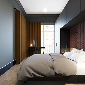 70平米一室一厅英伦风格卧室图片大全