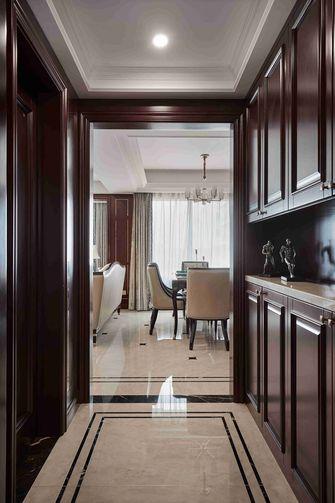 90平米三室一厅新古典风格玄关图