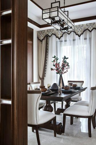 140平米别墅东南亚风格餐厅装修图片大全