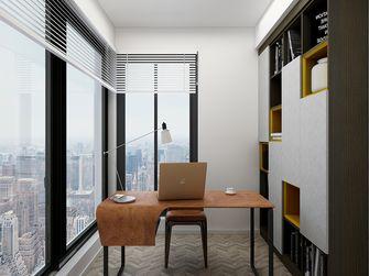 110平米四室两厅混搭风格书房图片