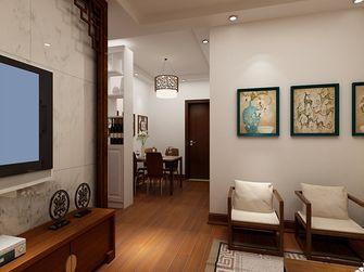 60平米一室两厅中式风格走廊图
