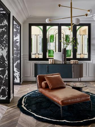 110平米三法式风格客厅图片大全