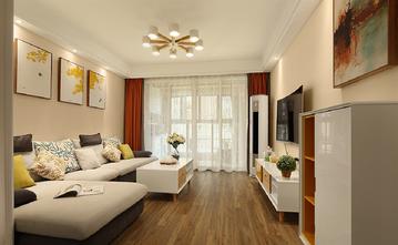 富裕型90平米三北欧风格客厅装修效果图