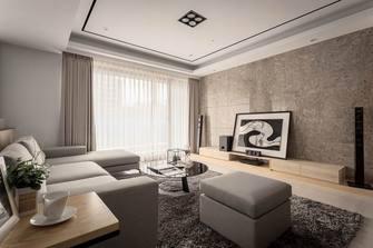 140平米三室五厅现代简约风格卧室欣赏图