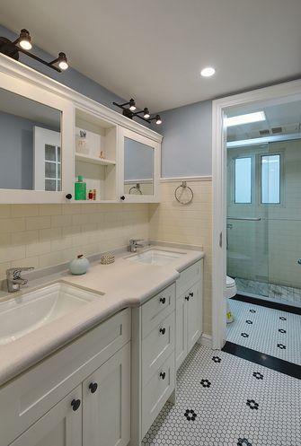 60平米一室两厅美式风格卫生间图片