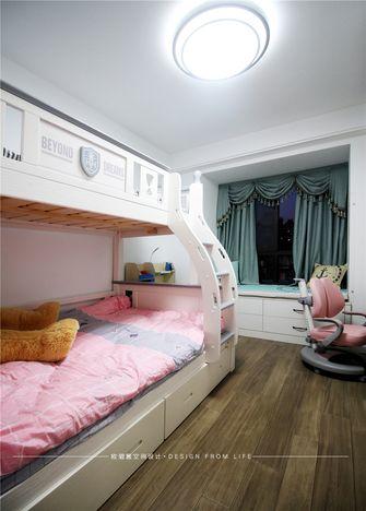 90平米三室两厅现代简约风格儿童房图片