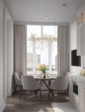 60平米新古典风格餐厅图片大全