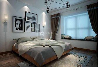 15-20万140平米三室一厅北欧风格卧室装修案例