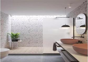 50平米公寓北欧风格卫生间装修案例