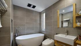 110平米三室兩廳日式風格衛生間裝修效果圖