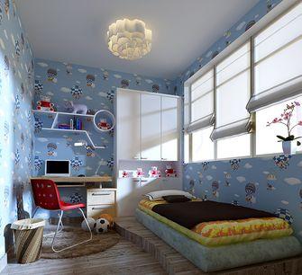 富裕型110平米三现代简约风格儿童房图片大全