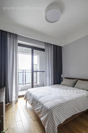 80平米四室三厅日式风格卧室效果图