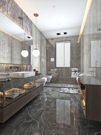 豪华型140平米复式现代简约风格卫生间装修案例