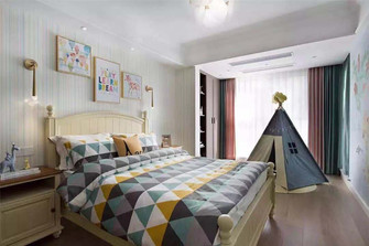 100平米三室两厅新古典风格儿童房设计图