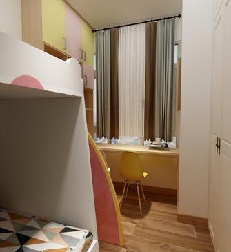 60平米现代简约风格卧室效果图