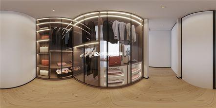 140平米别墅现代简约风格衣帽间装修案例