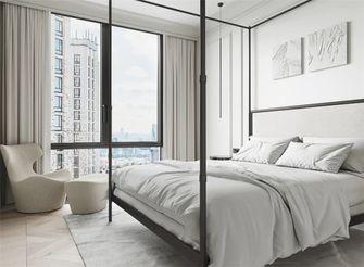 60平米公寓现代简约风格卧室效果图