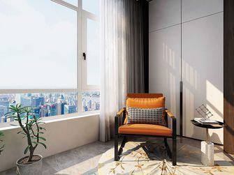 130平米四室一厅中式风格阳台图片