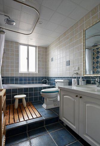 100平米三室两厅欧式风格卫生间浴室柜设计图
