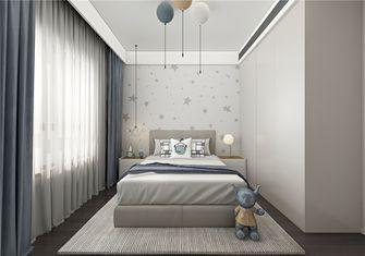 140平米复式现代简约风格儿童房效果图