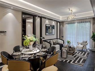 120平米三室三厅法式风格客厅装修案例