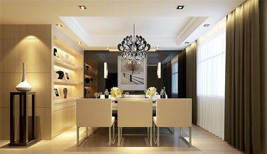 120平米三室一厅现代简约风格餐厅设计图