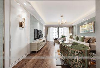 140平米三美式风格客厅设计图
