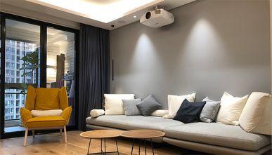 80平米三日式风格客厅装修效果图