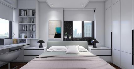 50平米一居室现代简约风格卧室欣赏图