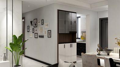 90平米三室两厅现代简约风格走廊图片大全