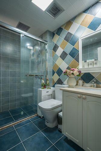 90平米三室两厅田园风格卫生间效果图