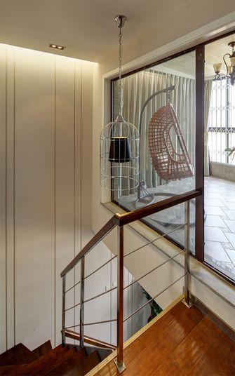 3-5万120平米现代简约风格楼梯装修图片大全