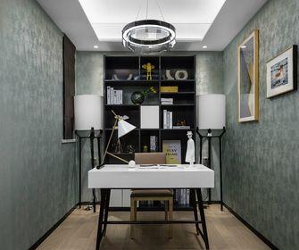 80平米三室两厅现代简约风格书房装修效果图
