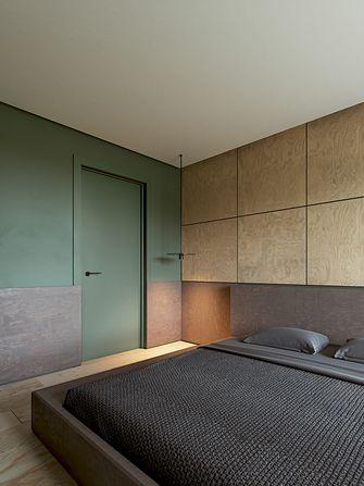 富裕型60平米一室一厅现代简约风格卧室设计图
