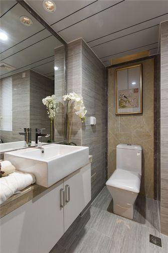 120平米三室两厅中式风格卫生间浴室柜装修案例