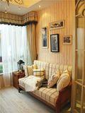 140平米四室一厅田园风格客厅欣赏图