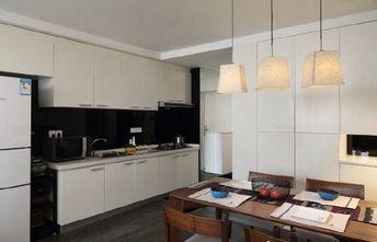 50平米复式混搭风格厨房设计图