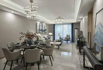 120平米三室两厅新古典风格餐厅设计图