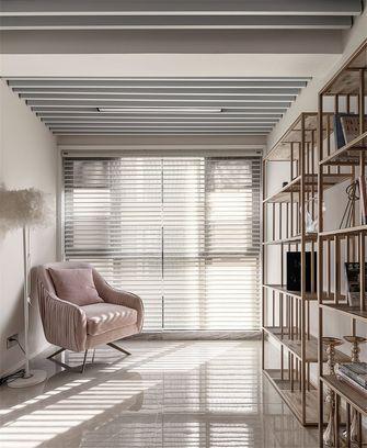 130平米三室两厅法式风格书房设计图