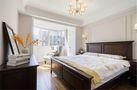 120平米三室两厅田园风格卧室装修图片大全
