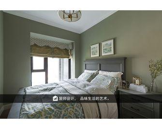 130平米三英伦风格卧室设计图
