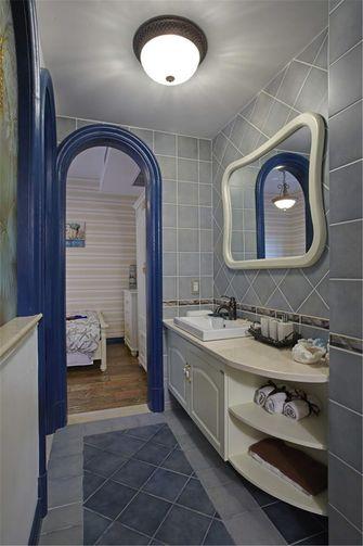60平米公寓地中海风格卫生间设计图