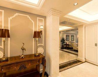 140平米别墅英伦风格玄关设计图